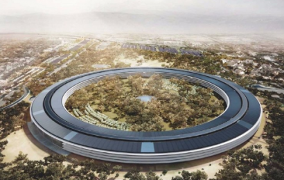 Yuk Melihat ke Kantor Terbaru Apple: Apple Campus Cupertino