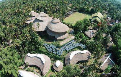 Sekolah alam di Green School Bali