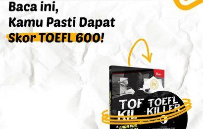 Segera Pesan Buku TOEFL Killer dari Inspirabook!