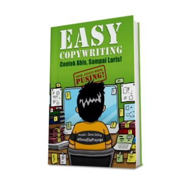 Buku Easy Copywriting: Jutaan Tips dan Trik Copywriting ada disini!