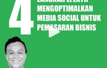 4 Langkah Efektif Mengoptimalkan Media Sosial Untuk Pemasaran Bisnis