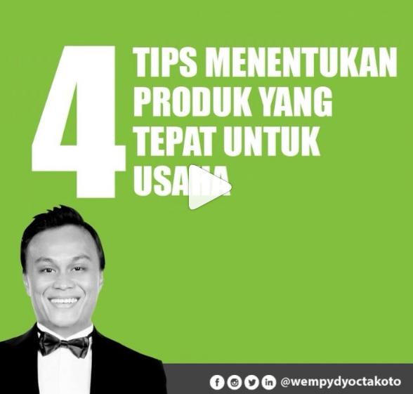 4 Tips Menentukan Produk Yang Tepat Untuk Usaha