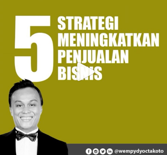 5 Strategi Meningkatkan Penjualan Bisnis