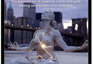 Seni Memperbaiki dengan emas