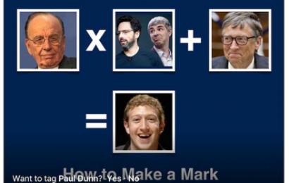 Bagaimana Cara membuat Mark Zuckerberg?