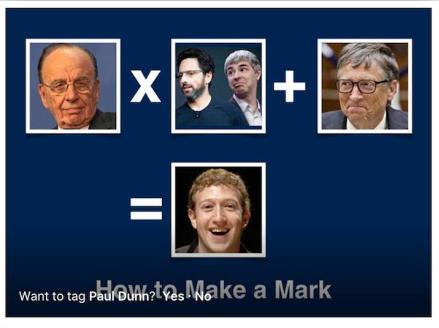 Cara membuat Mark Zuckerberg