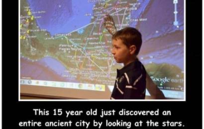 Penemuan Kota Kuno oleh Anak Berusia 15 tahun