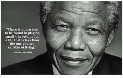 Momen aneh ketika saya bertemu Nelson Mandela