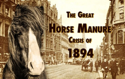 "Sebuah pelajaran dari ""The Great Horse Manure Crisis of 1894″"