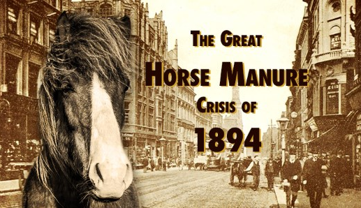 The Great Horse Manure Crisis of 1894. Foto: wattsupwiththat.com