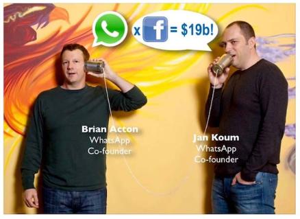 Kisah Pendiri Whatsapp sebelum Join ke Facebook